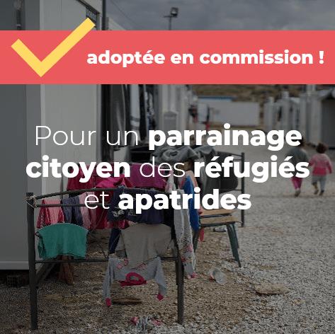 Pour un parrainage citoyen des réfugiés et apatrides
